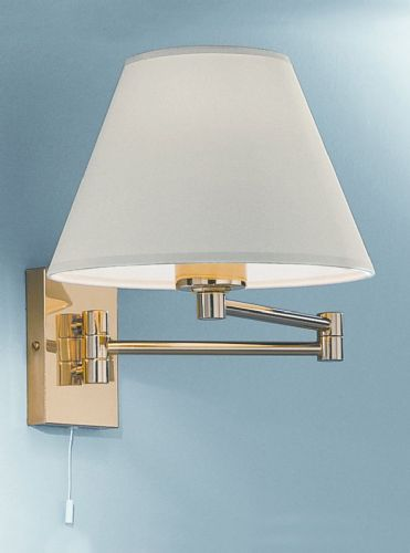 Franklite WB128 Polished Brass Wall Light